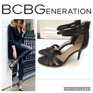 Bcbgeneration strappy heels - Randi